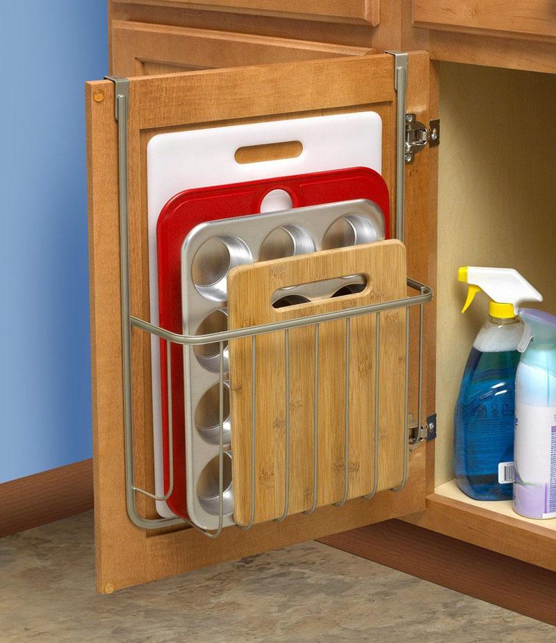 Органайзер для хранения разделочных досок и форм для выпечки