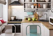 7 правил оформления маленькой кухни