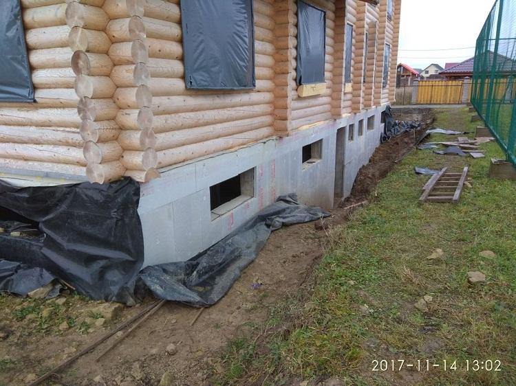 Утепление цоколя - важная составляющая при строительстве дома