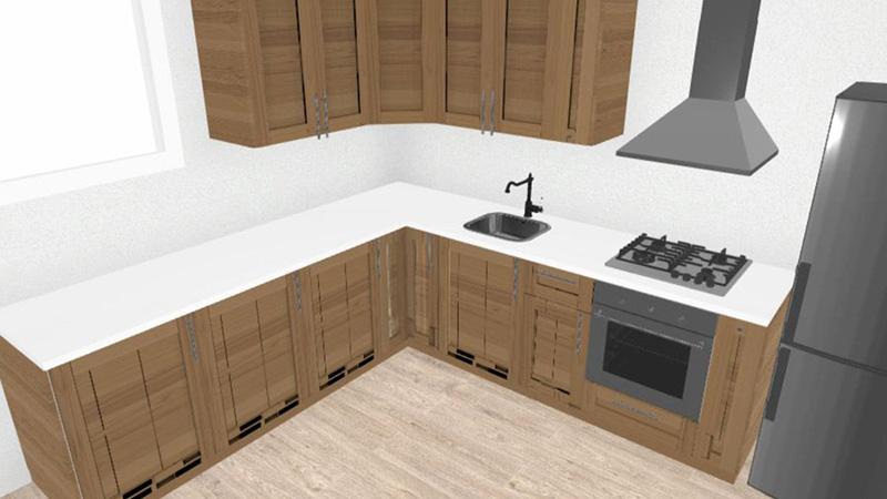 ИКЕЯ позволяет посмотреть в режиме онлайн как будет выглядеть их мебель на кухне