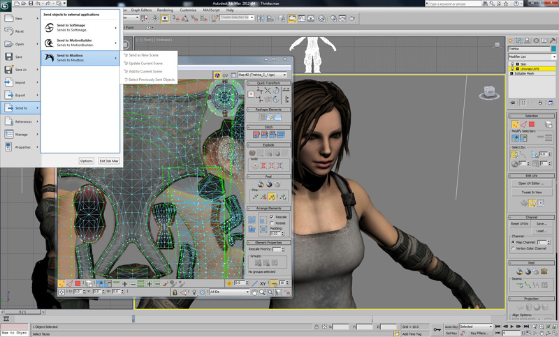 3DMax любят и разработчики игр, и архитекторы