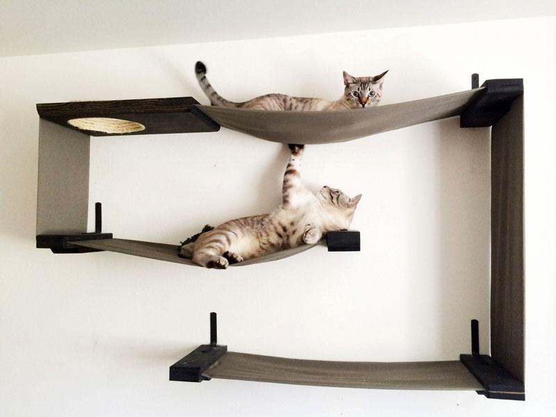Домик для кошки в первую очередь должен быть безопасным