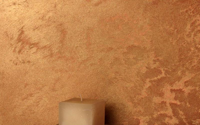 Краска для фактурной штукатуркис эффектом «мокрого шёлка»