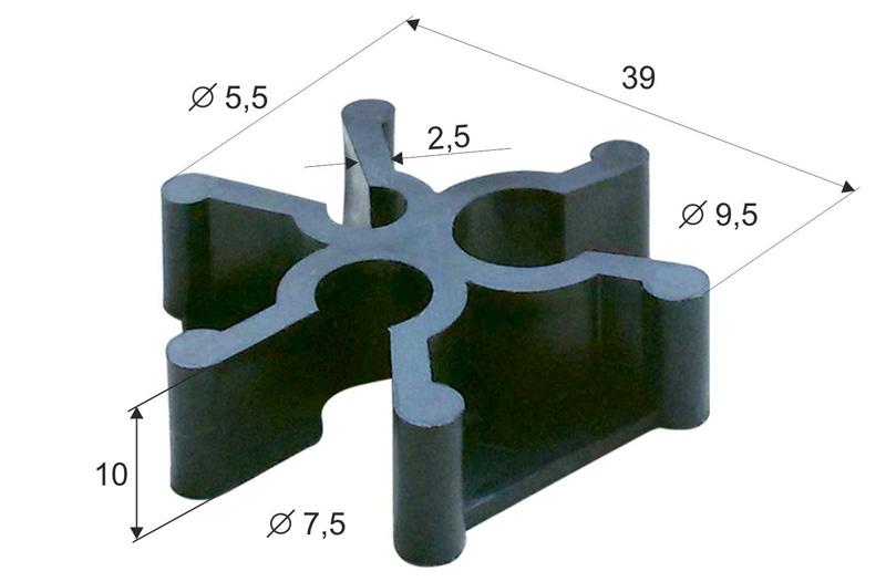 Фиксаторы для арматуры: типовые конструкции и вариации на тему