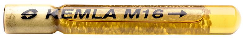 Анкер в виде ампулы вставляется в отверстие, после чего вкручивается шпилька