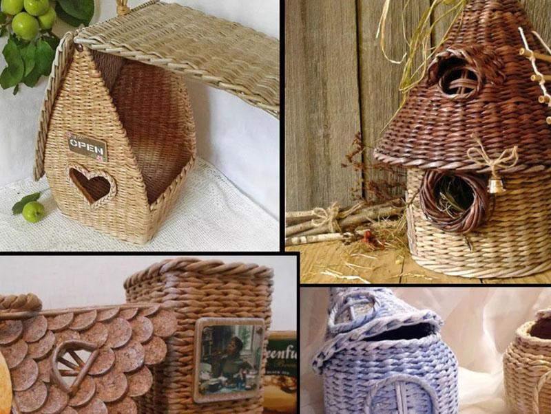Чайный домик из коробки мастер класс