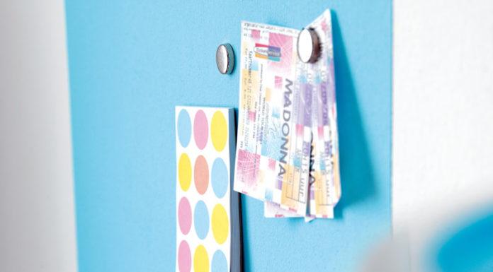 🎨 Магнитная краска: возможность частого обновления интерьера без лишних затрат