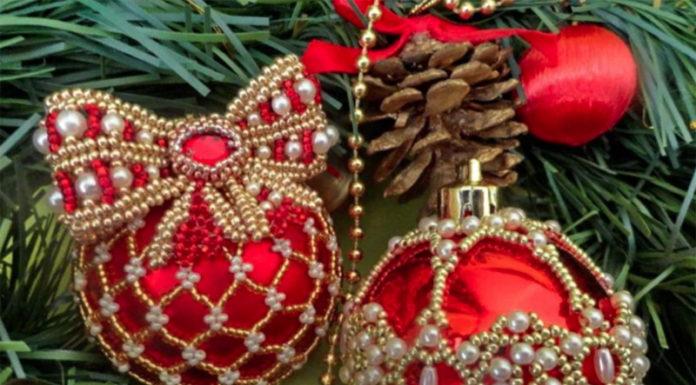 🎄Создаем волшебство своими руками, или 35 идей украшения новогодних шаров