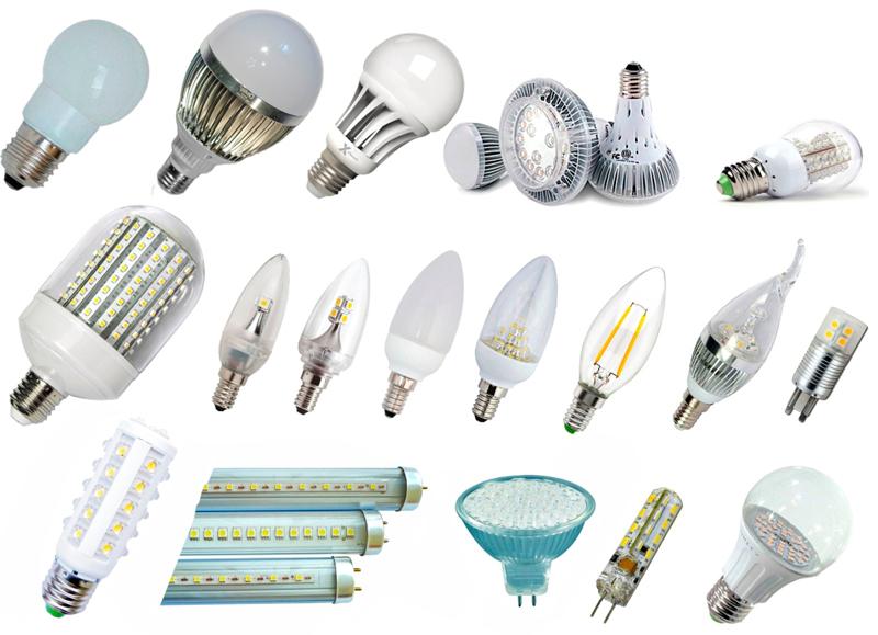 Отсутствие колб и сравнительно малые размеры диодов позволяют создавать лампы любых форм и видов