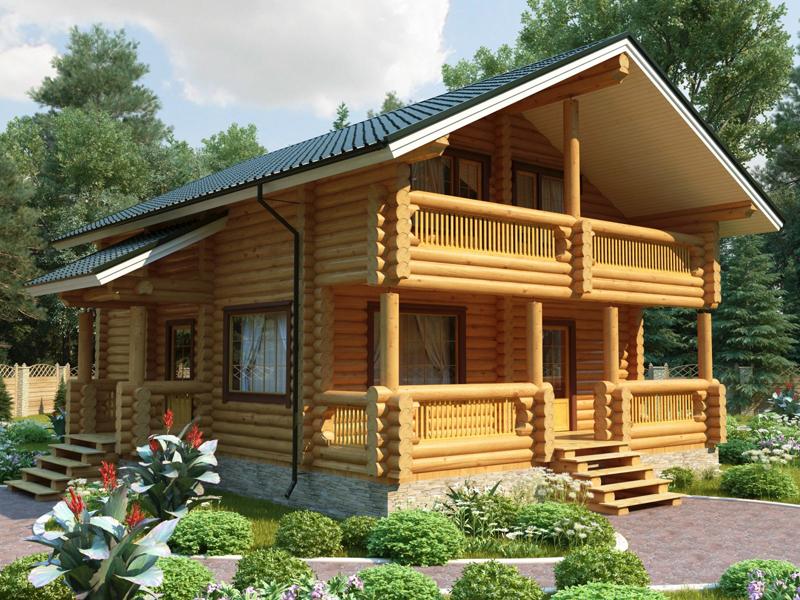 Только в середине 19 века дерево постепенно уступило приоритет каменным домам