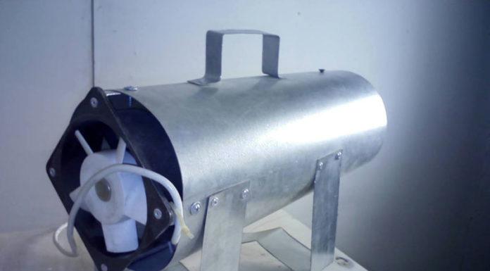 💨 Тепловая электрическая пушка 220 В: качественный обогрев жилых помещений, гаража, склада
