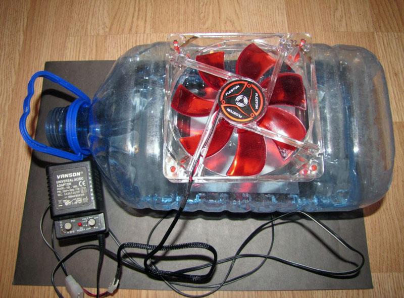 Увлажнитель воздуха для комнаты можно также изготовить самостоятельно – это избавит от лишних затрат