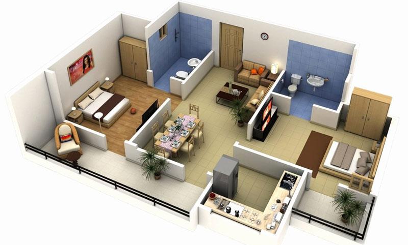 Расстановка мебели поможет определить все точки установки розеток
