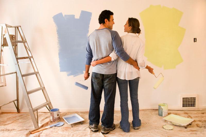 Весь ремонт, в том числе и отделку, следует планировать заранее