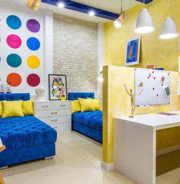 10 правил расстановки мебели в детской комнате