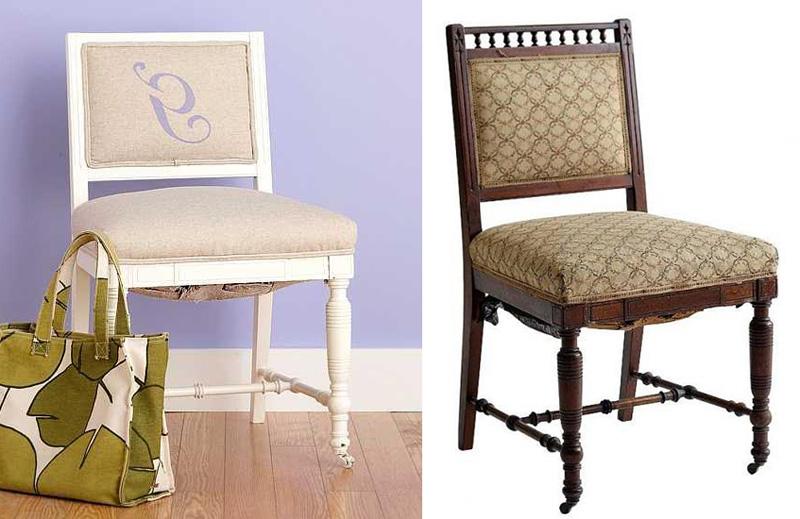 Реставрация старого стула