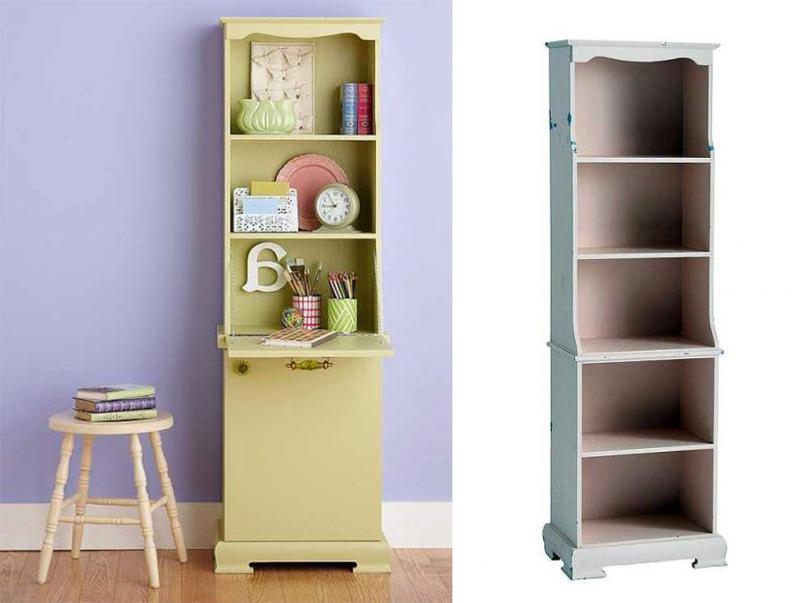 Преображение шкафа для книг