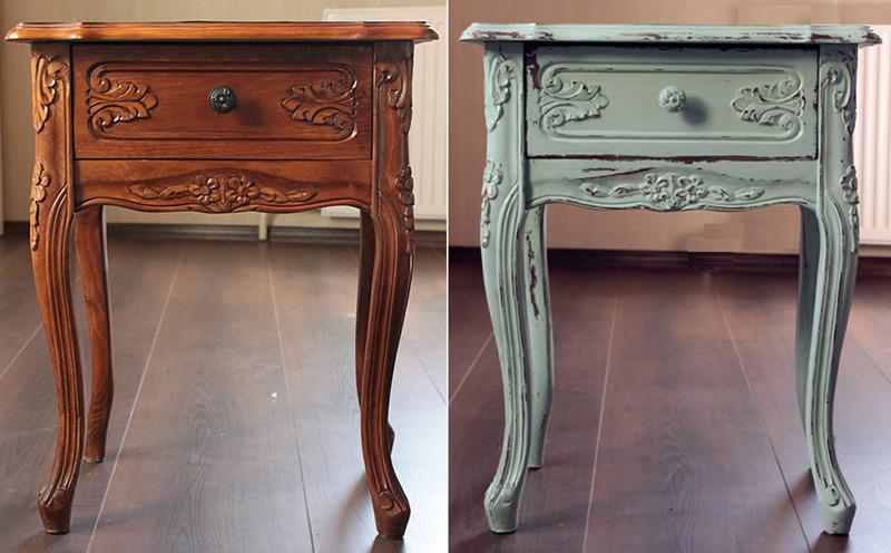 10 креативных вариантов реставрации и использования старой мебели