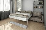 🛏 Неожиданные решения для однушки – кровать-комод: виды, модели, особенности