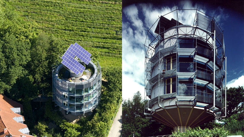 Необычный дизайн и конструкция обеспечивают максимально эффективное энергопотребление
