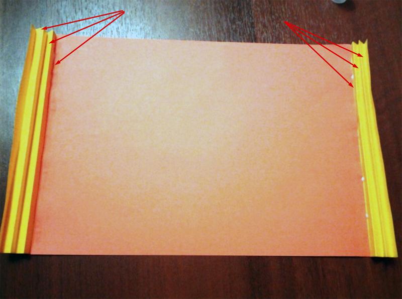 Рамка для аппликации из трёх листов
