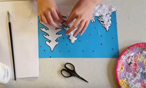 ✂ Идеи для аппликаций и композиций к Новому 2019 Году: необыкновенное творчество для детей и взрослых