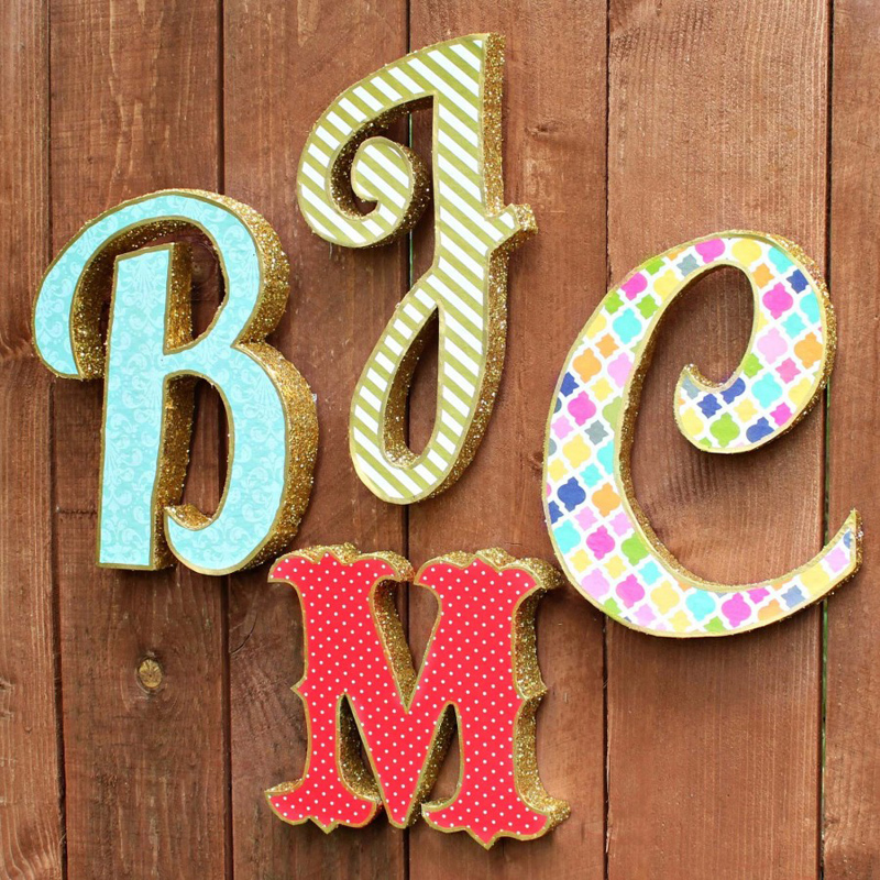 Роскошные буквы для фотосессии и украшения торжества готовы
