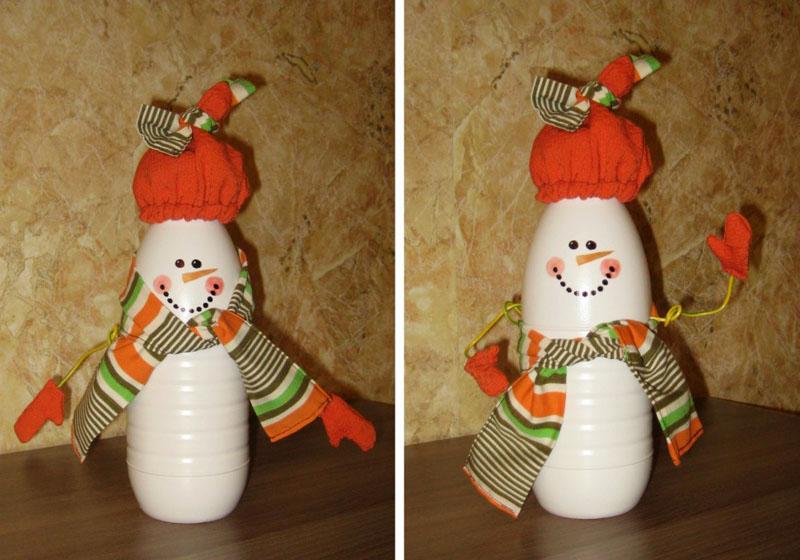 Текстиль гармонично дополняет образ зимнего гостя