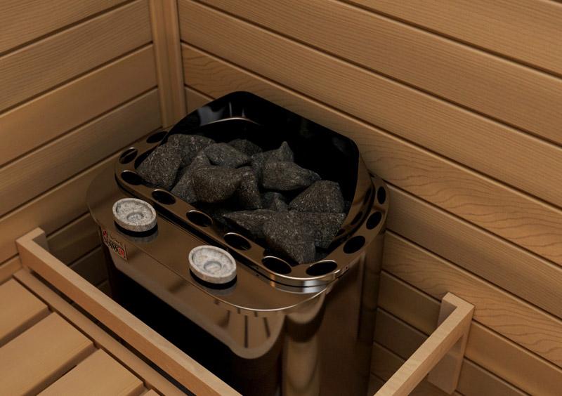 Для эффекта русской бани понадобится электроприбор с парогенератором