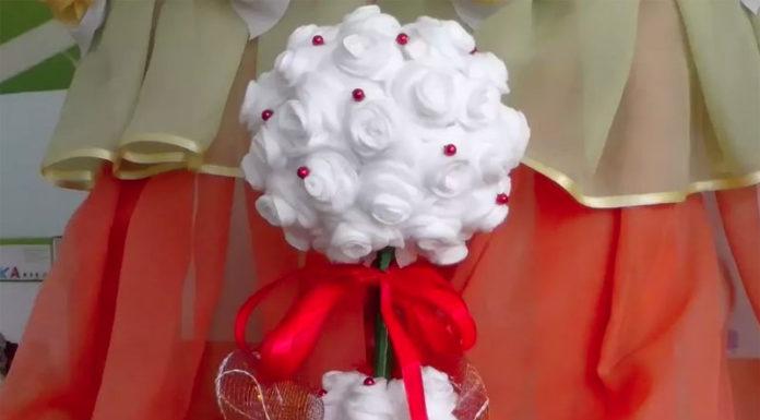 🎄 Праздник к нам приходит! Как из ватных дисков своими руками сделать ёлку на Новый Год