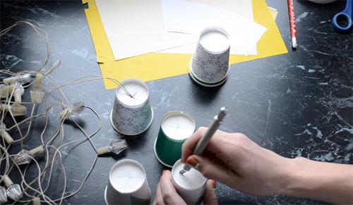 🎄 Креативные гирлянды к Новому году: 20 мастер-классов с пошаговыми фото-инструкциями