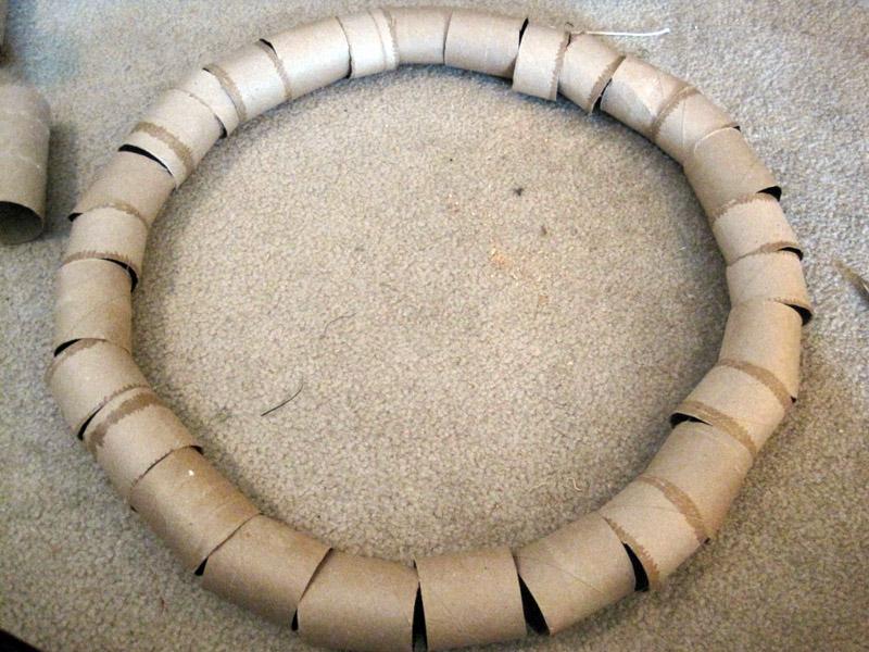 Из втулок можно сделать основу любого диаметра