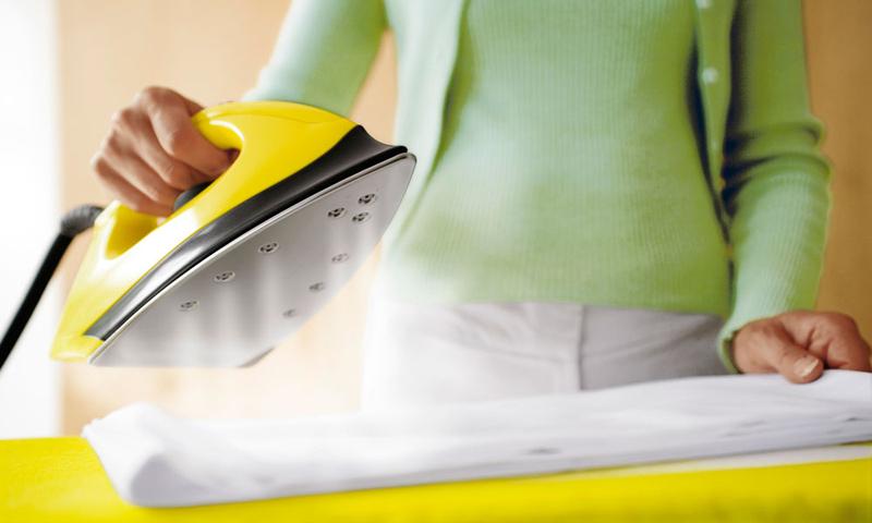 Глажка пересушенного белья увеличивает энергопотребление