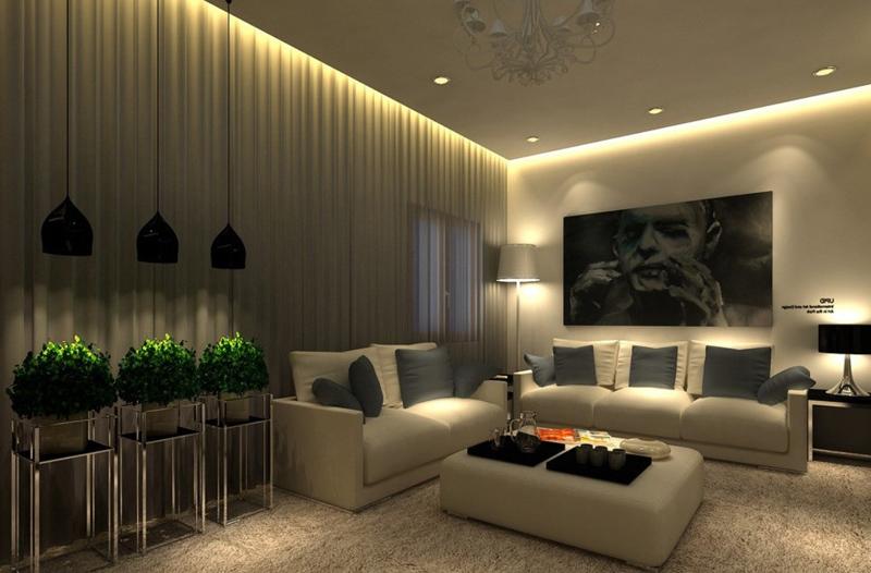 Используйте светодиодное и точечное освещение