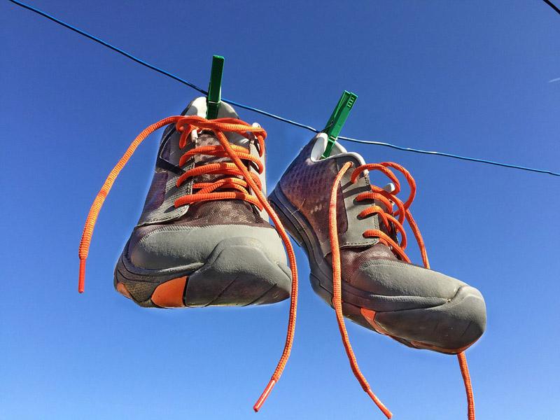 Летом и на верёвке ветерок сделает своё полезное дело