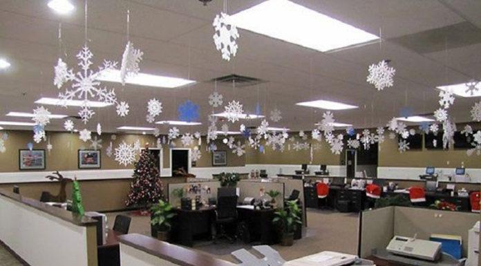 🎅 Как украсить кабинет и офис на Новый 2019 Год: фотопримеры и советы дизайнеров с учётом стиля