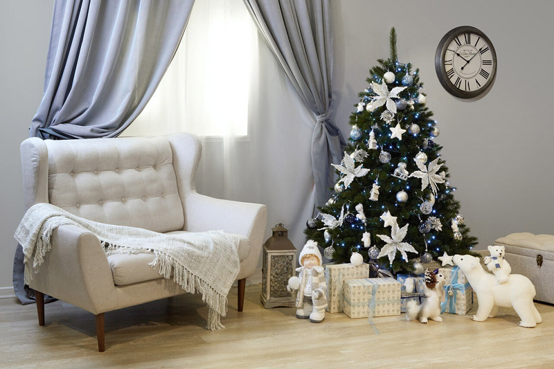 Любителям неброского декора можно порекомендовать простой дизайн гостиной с использованием одного-двух основных тонов