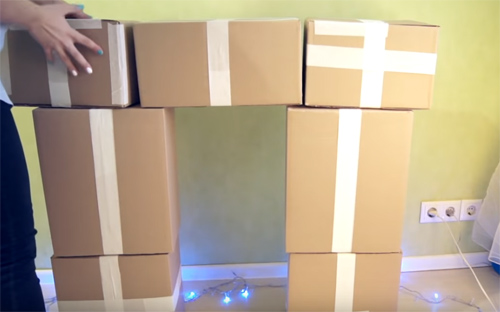 🔥 Новогодний камин из коробок и не только: 5 уникальных мастер-классов