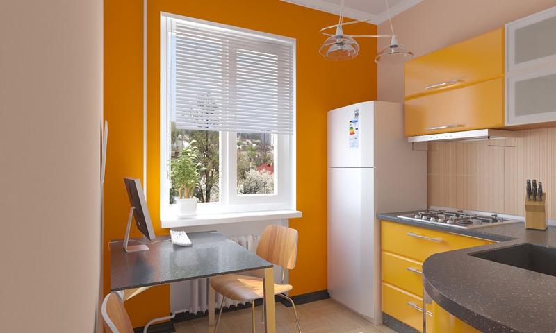 Нерациональное заполнение высоты: шкафчики вполне могли быть выше в 2 раза, а значит функциональность кухни была бы увеличена