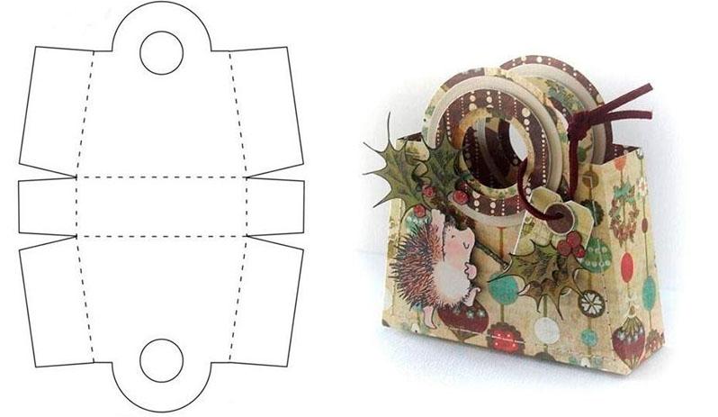 Идеальная коробка-сюрприз своими руками на Новый год!