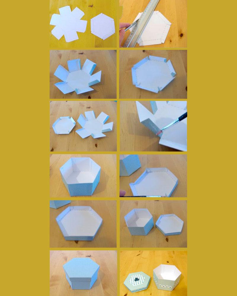 Схема сборки шестигранника