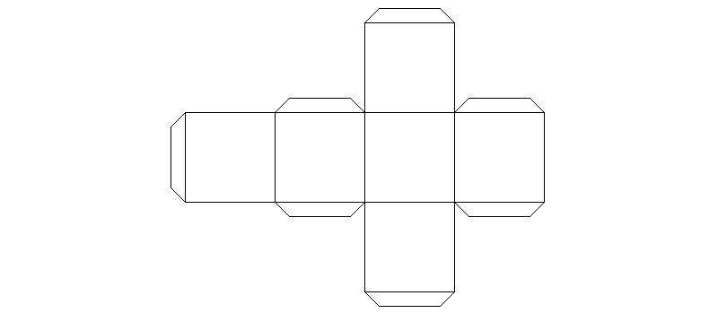 При равных сторонах получается аккуратный куб