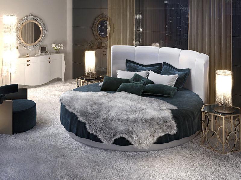 Новый тренд 2018-2019 года – кровать с мягким изголовьем