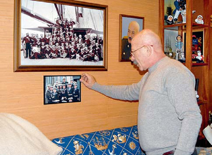 Фото экипажа корабля Николая II