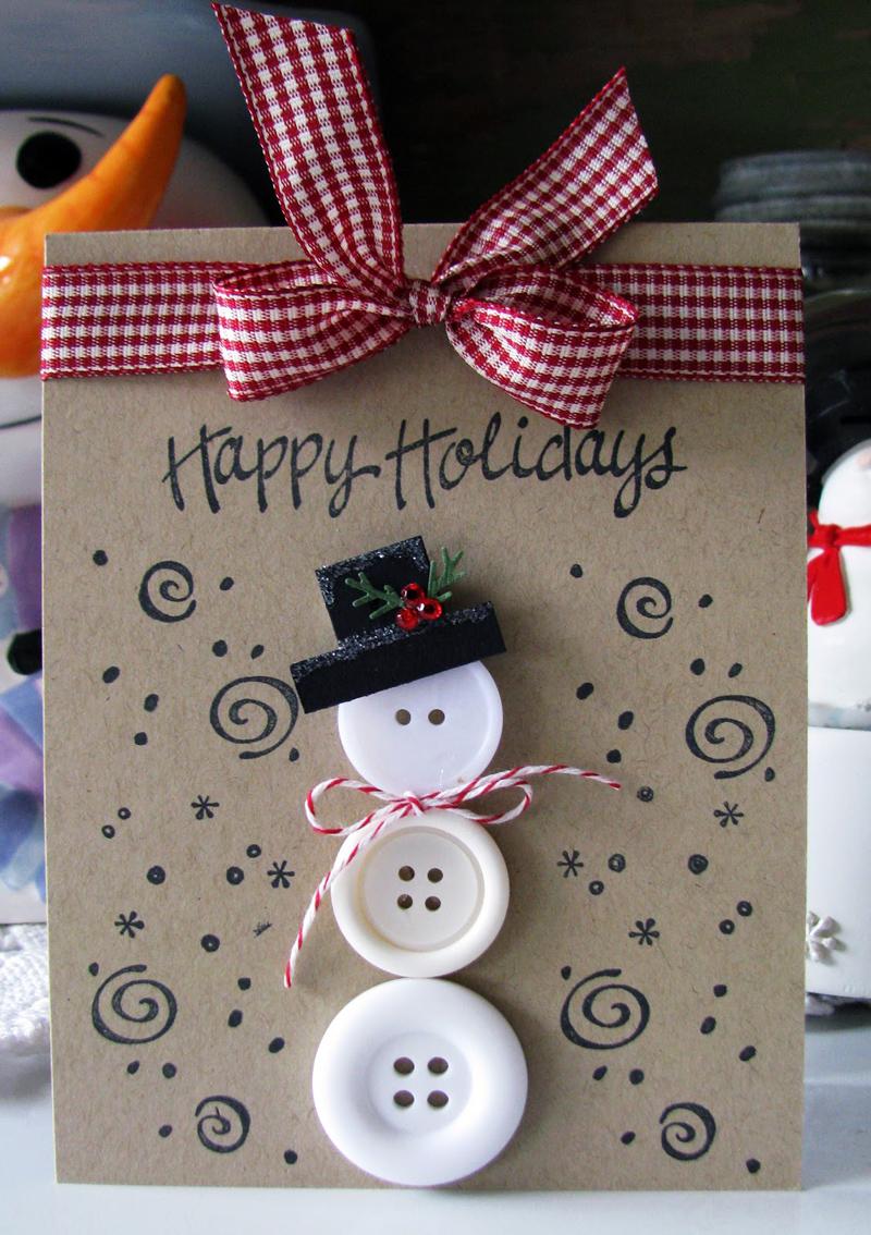 Шапочку для снеговичка можно вырезать из бумаги или фетра