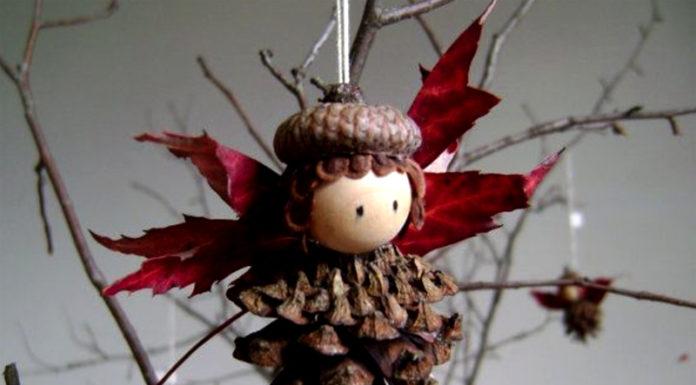 🌲 Красота, дарованная природой: новогодние поделки из шишек своими руками