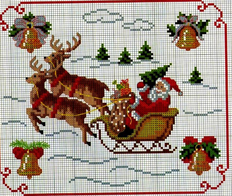 Куда интересно отправляется Дед Мороз с подарками?