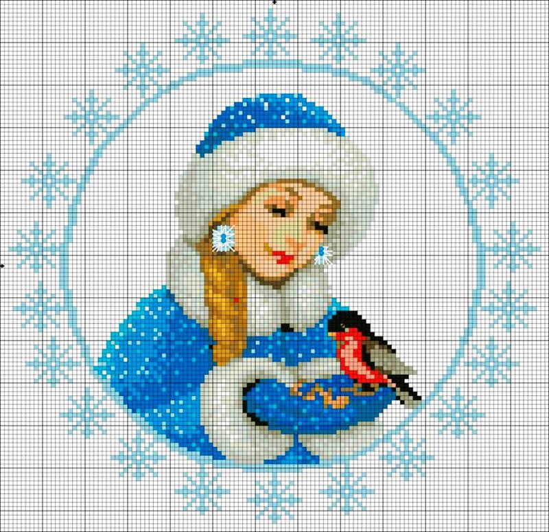 Конечно, нам никуда не деться от главной внучки новогодних праздников – Снегурочки, однако, вам стоит поторопиться, такую работу просто невозможно сделать за два вечера