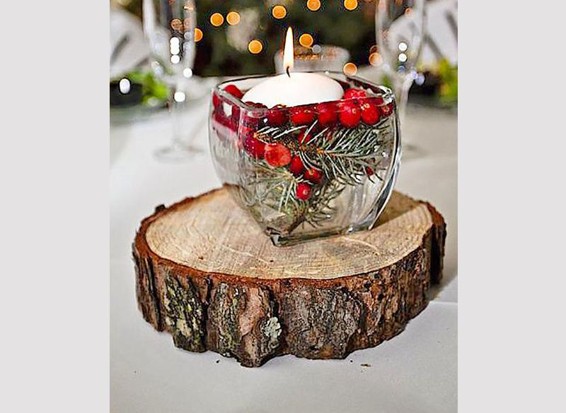 Из чего сделать романтичную красоту: стекло, вода, наполнитель, свечка
