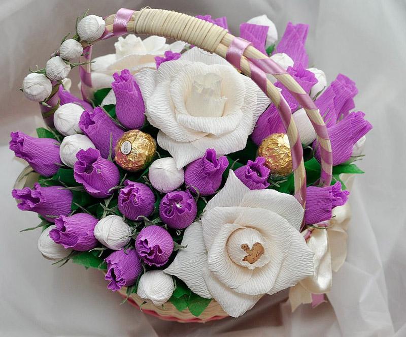 Нежные сладкие цветы сделают любую женщину счастливее